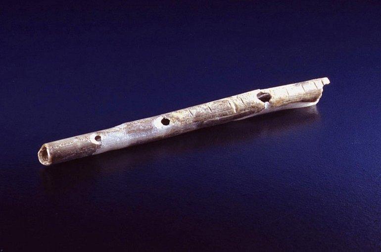 Aurignacian flute
