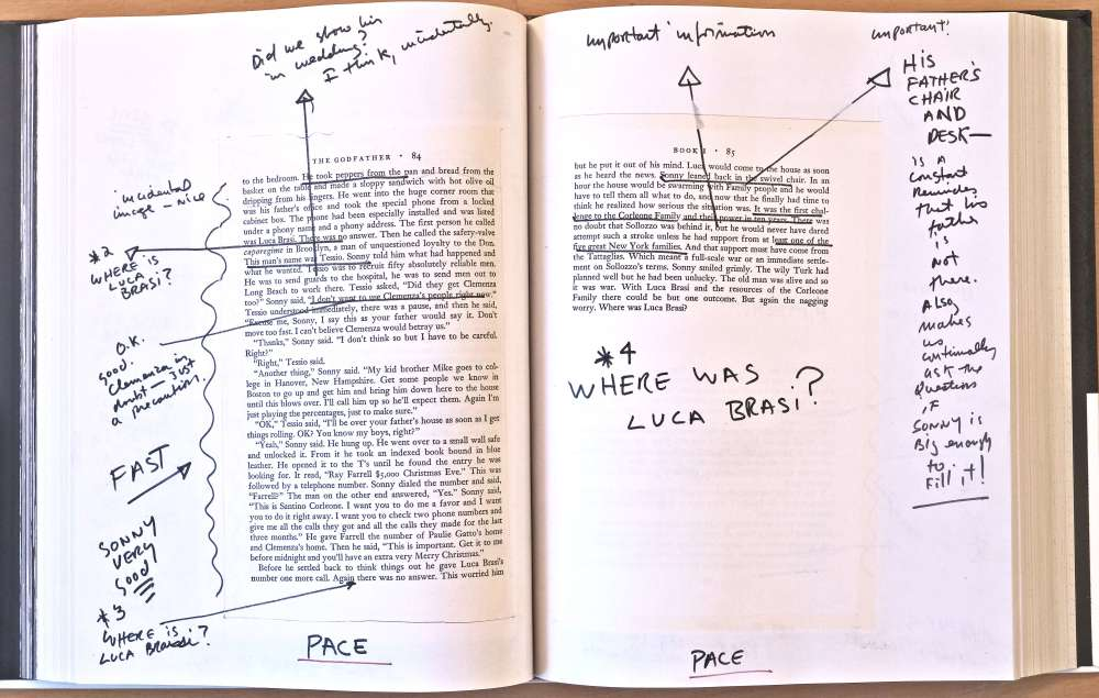Excerpt from The Godfather Notebook by Francis Ford Coppola