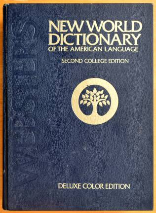 Webster's New World Dictiontary book cover
