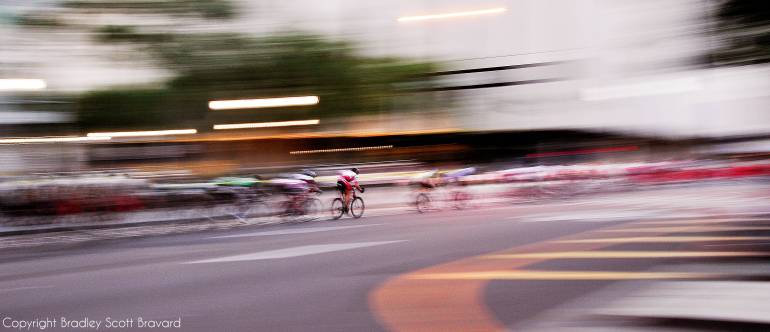 Urban bicycle race