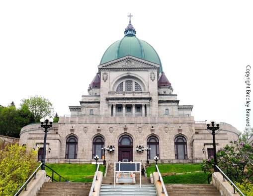 Saint Joseph's Oratory of Mount Royal in Montreal, Canada