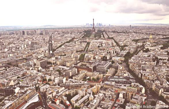Photo of Paris from Monparnasse Tower