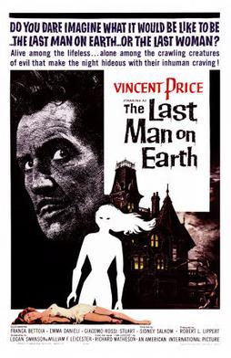 Movie poster for The Last Man On Earth (1964)