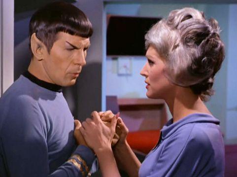 Screenshot from Star Trek episode
