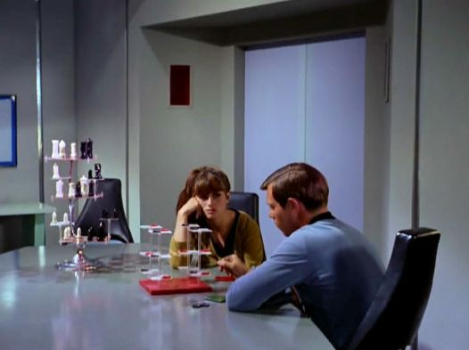 Screenshot from Star Trek episode