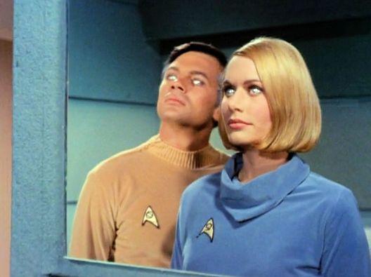 Screen shot of Star Trek episode